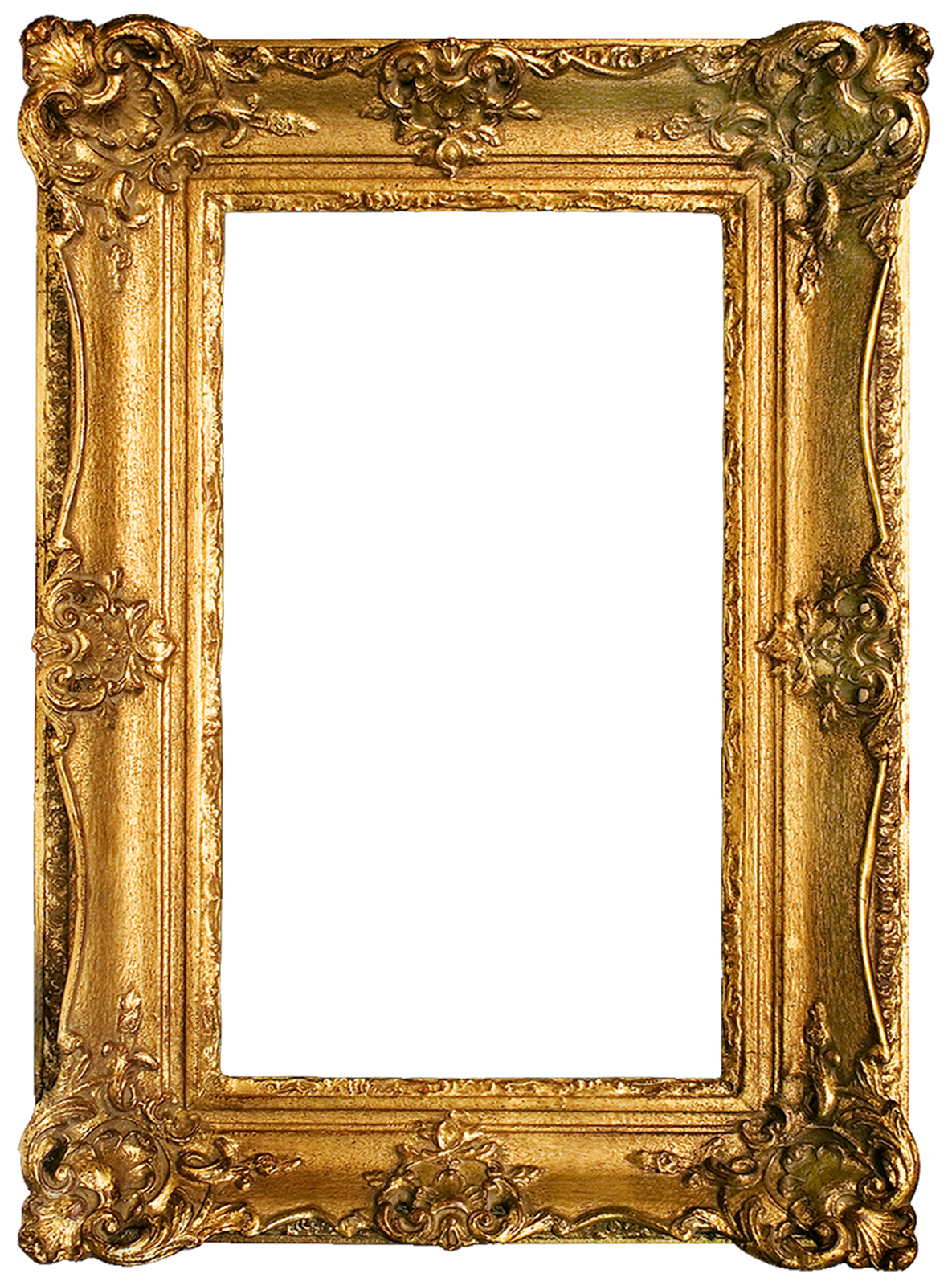 Vintage gilded gold fancy frame free printable (3)